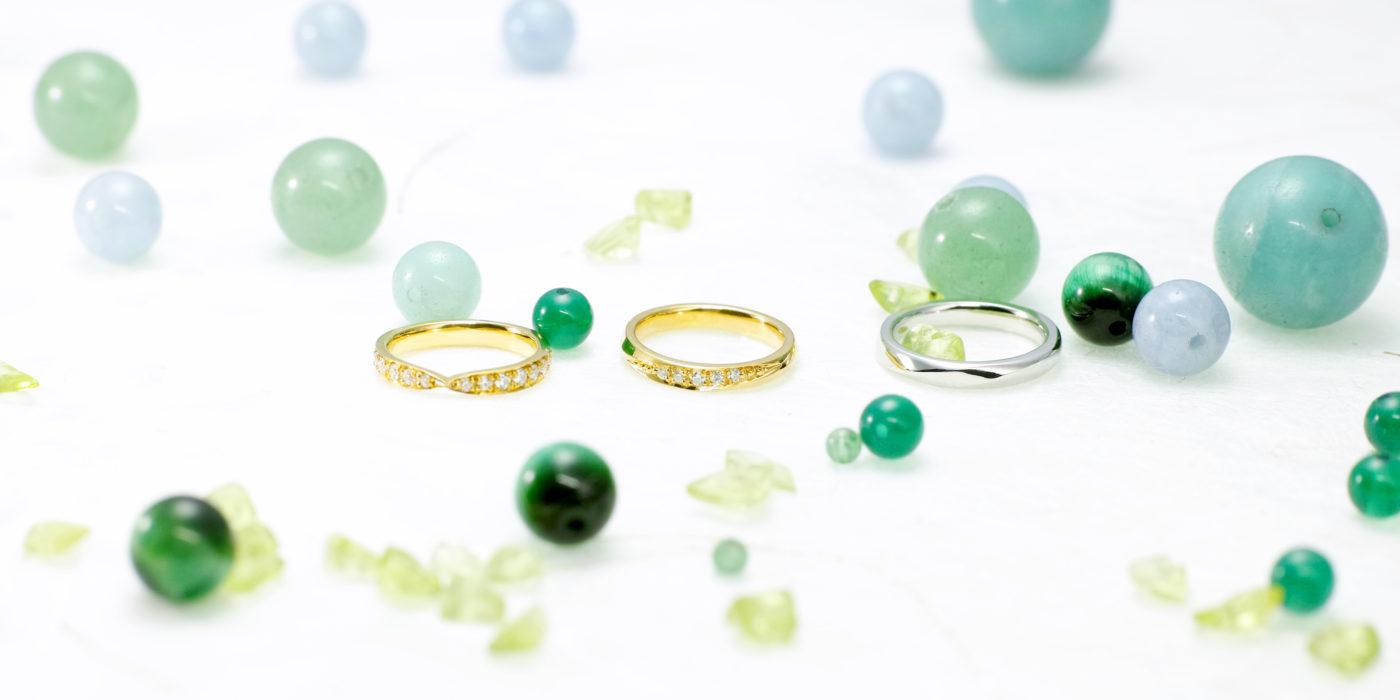 結婚指輪とお揃いが叶う