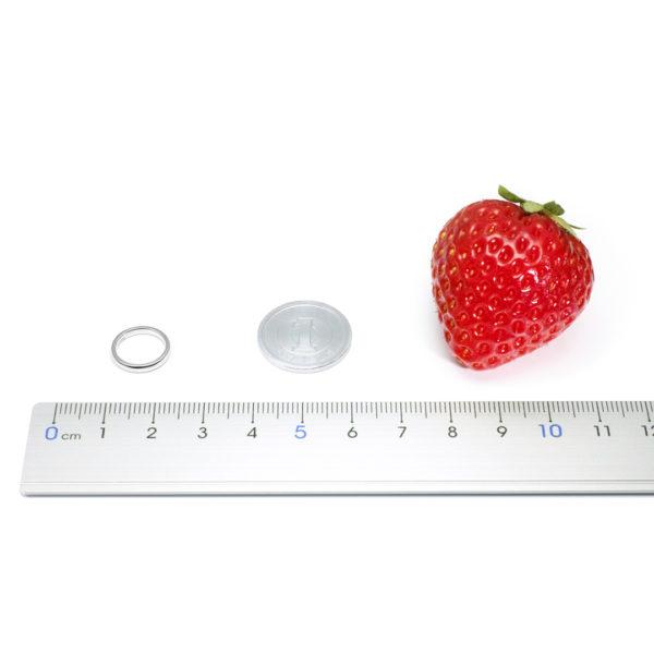 ベビーリングのサイズ比較
