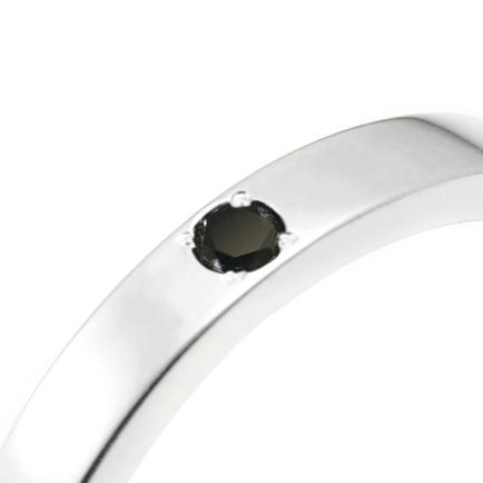 ブラックダイヤの誕生石オプション